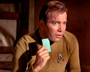 Plus, if cards are good enough for James T. Kirk they're good enough for me. None of this TNG holodeck nonsense.