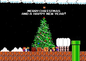 christmas mario